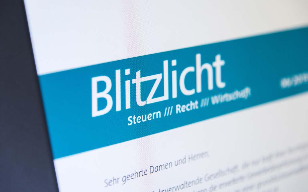 Fach-Info BLITZLICHT